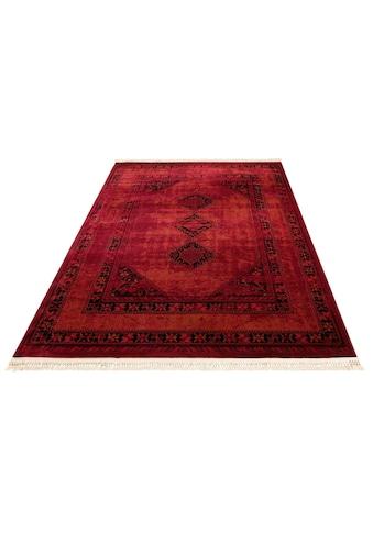 Teppich, »Amaya«, DELAVITA, rechteckig, Höhe 10 mm, maschinell gewebt kaufen