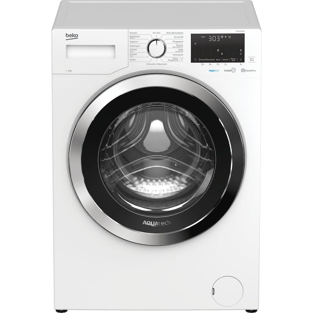 BEKO Waschmaschine »WMY91466AQ1«, WMY91466AQ1, 9 kg, 1400 U/min