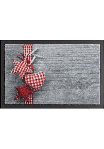 HANSE Home Fußmatte »Stern mit Herz«, rechteckig, 7 mm Höhe, Fussabstreifer,... kaufen