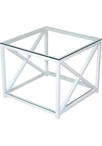 Home affaire Couchtisch, mit 2 Sicherheits-Glasböden kaufen