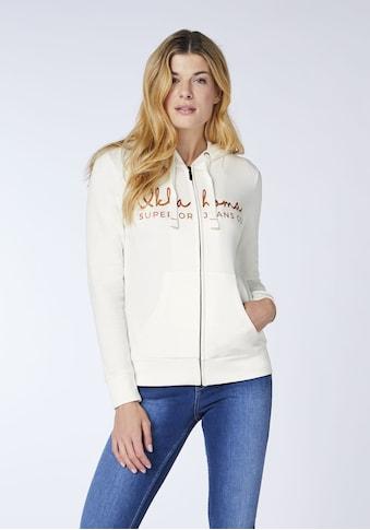 Oklahoma Jeans Sweatjacke »Women, Sweatjacket, Regular Fit« kaufen