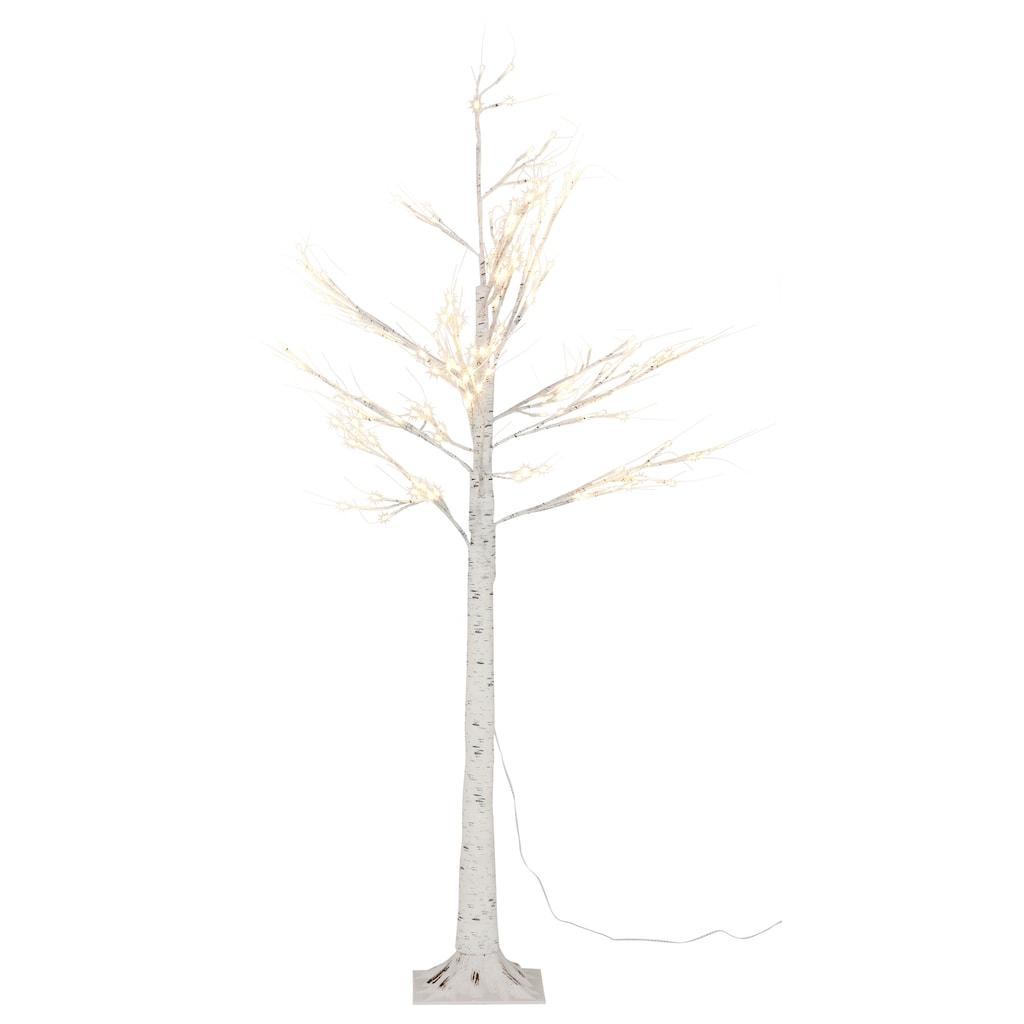 LED Baum »Birkenbaum«, Warmweiß, Höhe ca. 150 cm, mit 156 LEDs