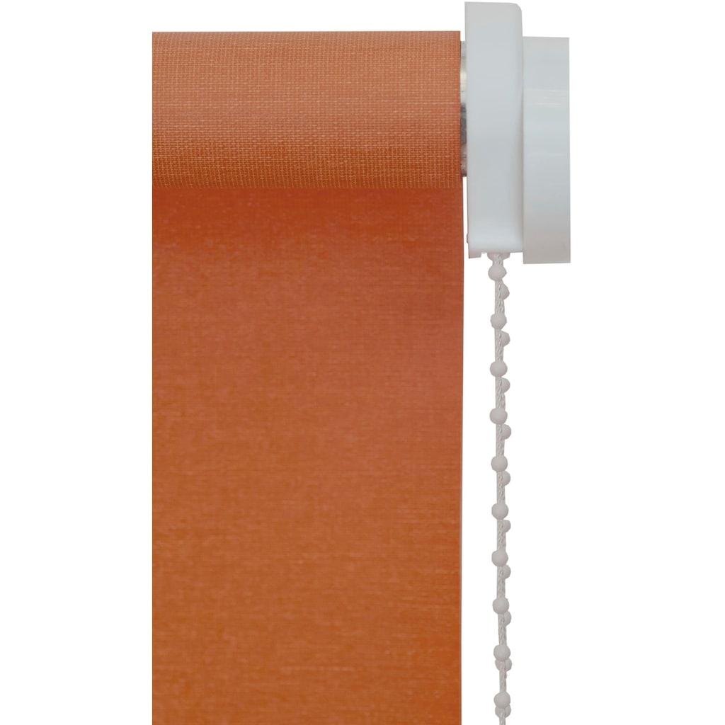 sunlines Seitenzugrollo »Uni«, verdunkelnd, energiesparend, mit Bohren, 1 Stück, einfarbig