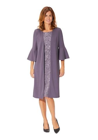 Lady Jersey - Kleid in 2 - in - 1 - Optik kaufen
