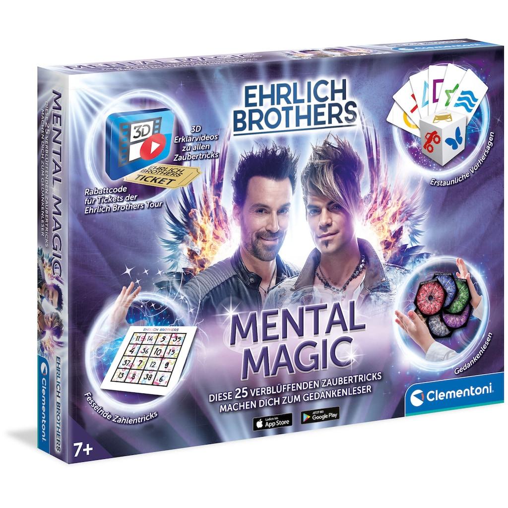 Clementoni® Zauberkasten »Ehrlich Brothers Mental Magic«, Made in Europe