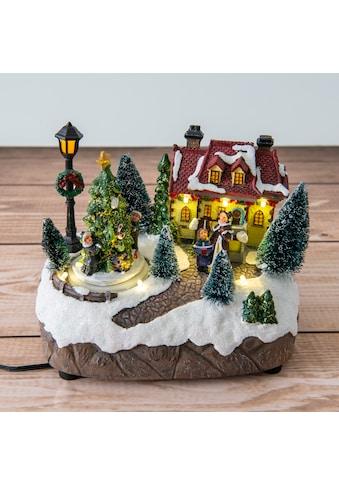 näve LED Dekolicht, Warmweiß, Schneelandschaft kaufen