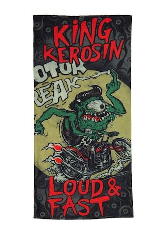 KingKerosin Multifunktionstuch »Loud & Fast«, aus Coolmax mit Monster Print kaufen