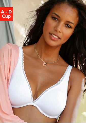 LASCANA T-Shirt-BH »perfect basic«, mit High Apex und Bügel kaufen