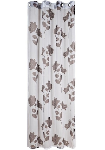Gerster Vorhang »Fedra«, HxB: 235x140, Ösenschal aus Voile, bedruckt kaufen