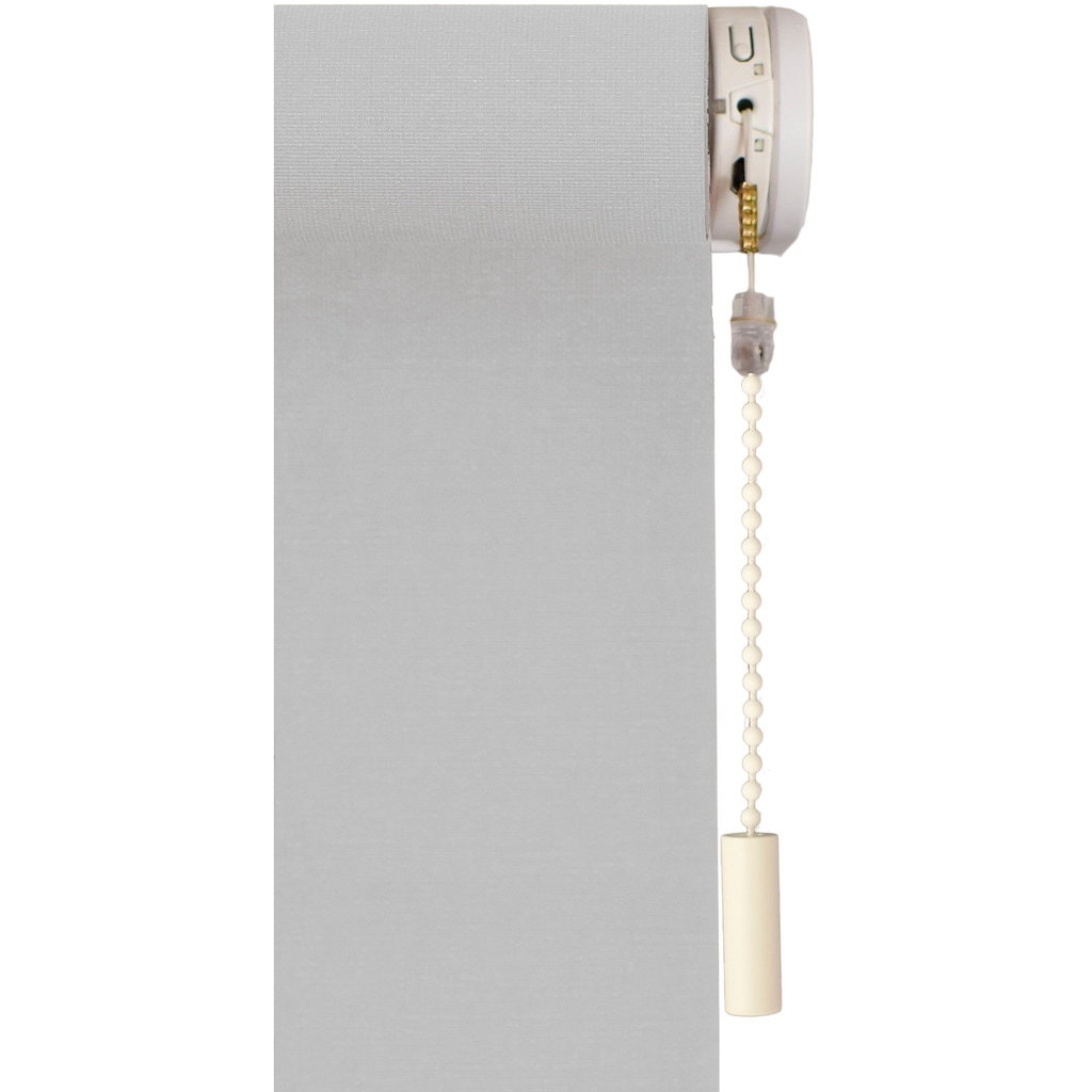 sunlines Seitenzugrollo »Classic Style Akku-Rollo«, Lichtschutz, freihängend, Made in Germany