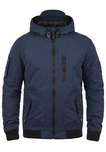Blend Kurzjacke »Marc«, warme Jacke mit Reißverschlüssen in Kontrastfarben kaufen