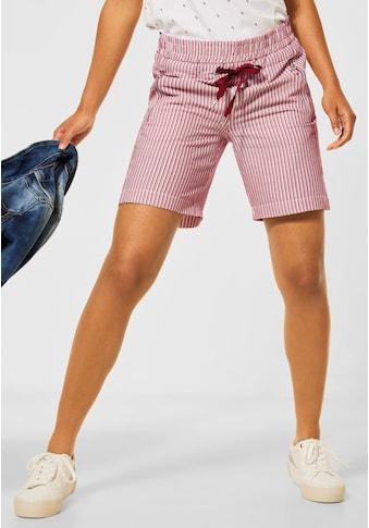 STREET ONE Shorts, mit Zipper-Detail kaufen
