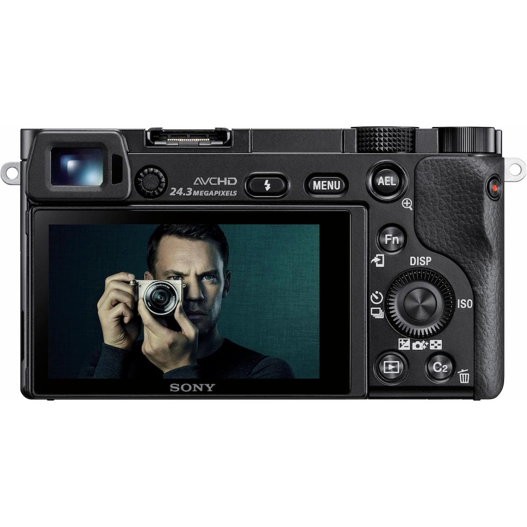Sony Systemkamera »Alpha ILCE-6000Z«, Carl Zeiss 16-70, WLAN (Wi-Fi), Gesichtserkennung, HDR-Aufnahme