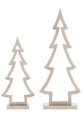 CHRISTMAS GOODS by Inge Dekobaum »Tannenbaum«, aus Holz, Höhe ca. 25,5 + 35,5 cm kaufen