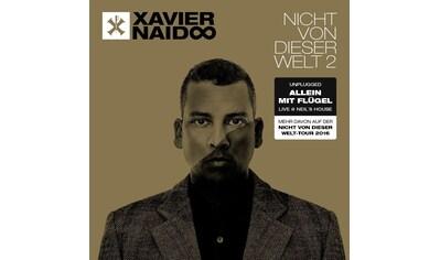 Musik-CD »NICHT VON DIESER WELT 2-Allein mit Flügel LIVE @ / Naidoo,Xavier« kaufen