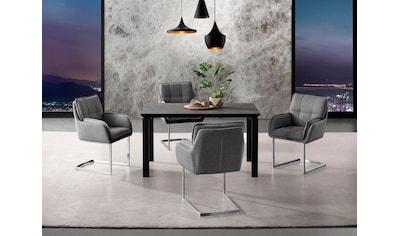 Places of Style Esstisch »Utah«, Gestell aus Metall, Tischplatte in Betonoptik kaufen