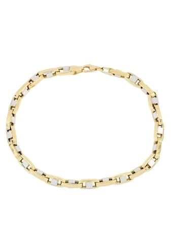 Firetti Goldarmband »Stegankerkettengliederung, 4,3 mm breit, glänzend, teilw.... kaufen