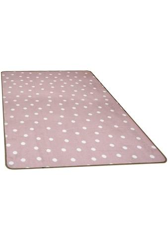 Primaflor-Ideen in Textil Kinderteppich »PUNTO«, rechteckig, 5 mm Höhe, Punkt Motiv,... kaufen
