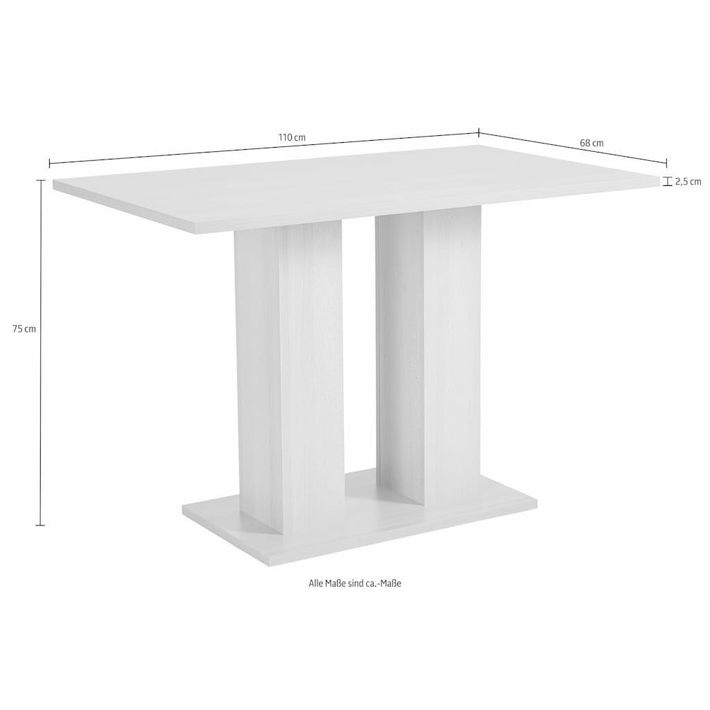 SCHÖSSWENDER Säulen-Esstisch »Anna 2«, zeitloses Design
