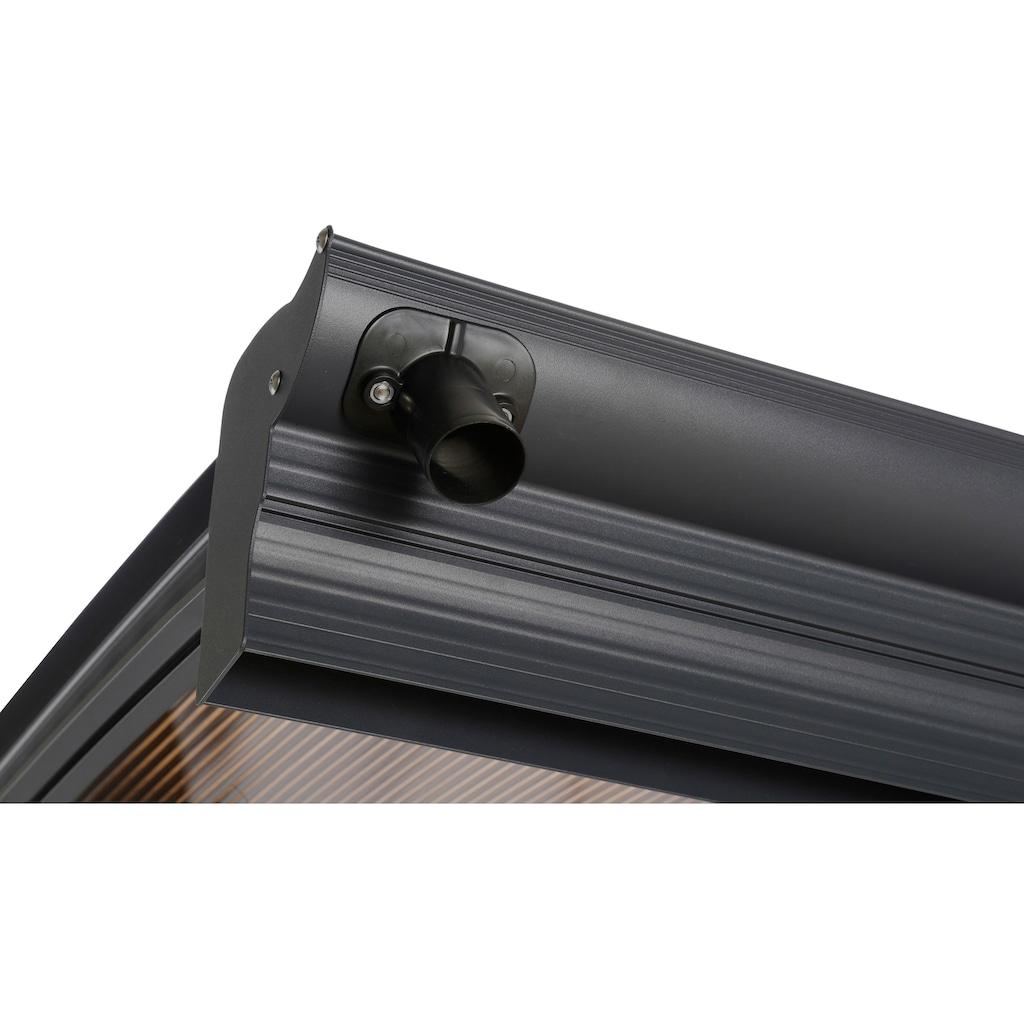 KONIFERA Einzelcarport »CP 7«, Aluminium, 276 cm, anthrazit