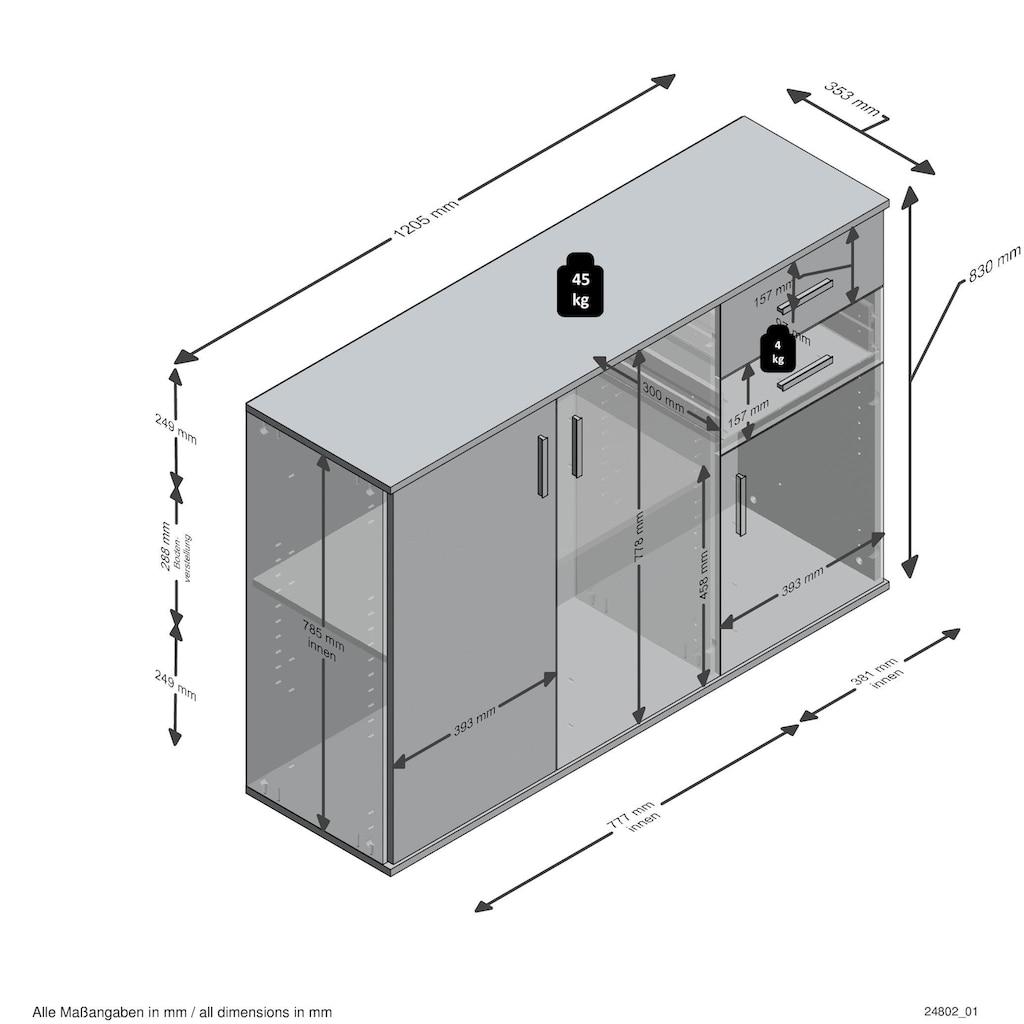 FMD Kommode »Albi«, Breite 120,5 cm