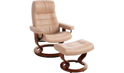 Stressless® Relaxsessel »Opal«, mit Hocker, mit Classic Base, Größe M, mit Schlaffunktion kaufen