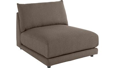 Places of Style Sofa-Mittelelement »Volente«, setzen Sie ihr eigenes Modul-Sofa zusammen kaufen