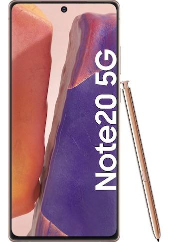 """Samsung Smartphone »Galaxy Note20 5G«, (16,95 cm/6,7 """", 256 GB Speicherplatz, 64 MP... kaufen"""