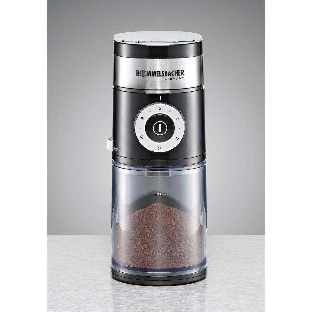 Rommelsbacher Kaffeemühle »EKM200«, 110 W, Scheibenmahlwerk, 250 g Bohnenbehälter