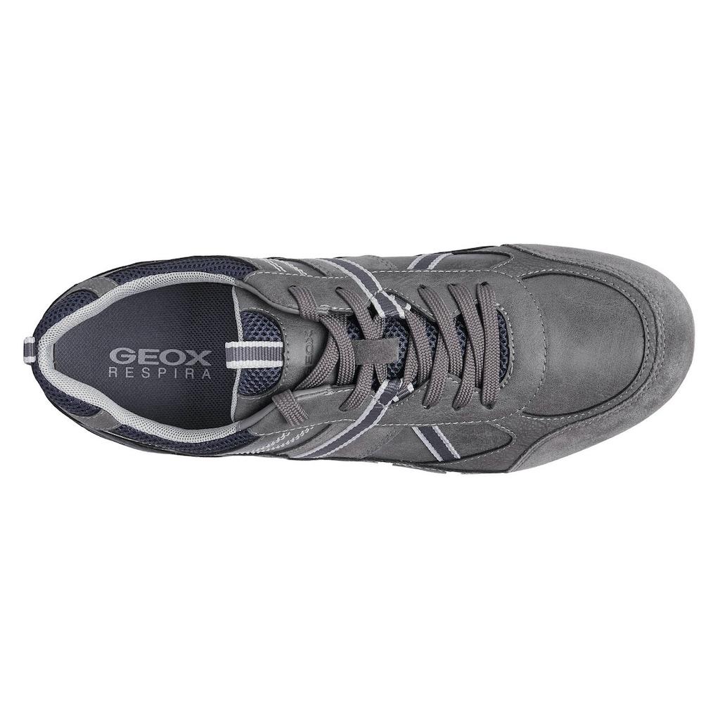 Geox Sneaker »RAVEX«, mit atmungsaktiver Membrane in der Laufsohle