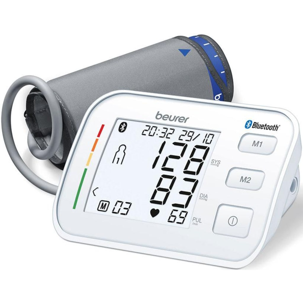 BEURER Oberarm-Blutdruckmessgerät »BM 57«, Bluetooth
