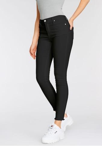 Please Jeans Röhrenhose »PONH«, mit ausgefranten Säumen kaufen