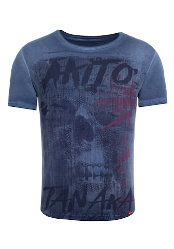 Akito Tanaka Print-Shirt »Fight for Skull«, mit Geisha Print kaufen