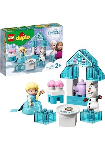 "LEGO® Konstruktionsspielsteine ""Elsas und Olafs Eis - Café (10920), LEGO® DUPLO® Disney Princess"", Kunststoff, (17 - tlg.) kaufen"
