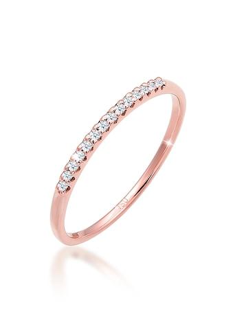 Diamore Verlobungsring »Verlobung Diamanten (0.07 ct.) Edel 750 Roségold« kaufen