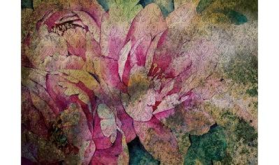 CONSALNET Vliestapete »Vintage Blume«, in verschiedenen Größen kaufen