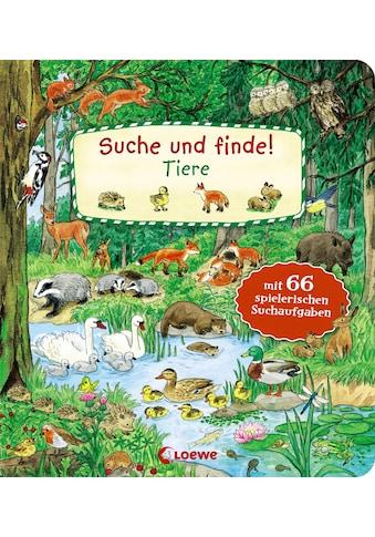 Buch »Suche und finde! - Tiere / Tina Frankenstein-Börlin, Lila L. Leiber« kaufen