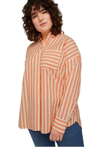 TOM TAILOR MY TRUE ME Hemdbluse, mit aufgesetzter Brusttasche kaufen