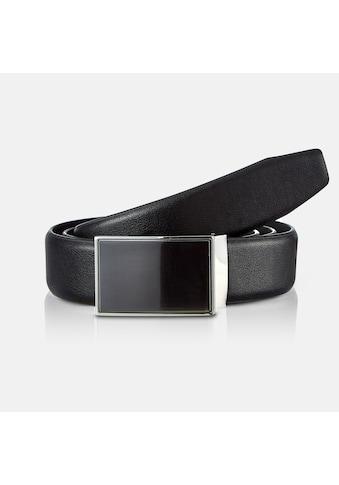 LERROS Synthetikgürtel »Elegance«, Citybelt mit polierter Koppelschließe kaufen