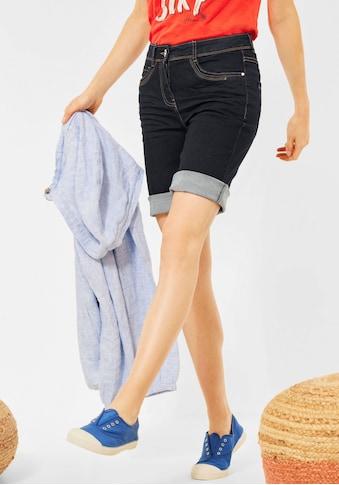 Cecil Shorts »Style Toronto«, mit kontrastfarbenen Nähten kaufen