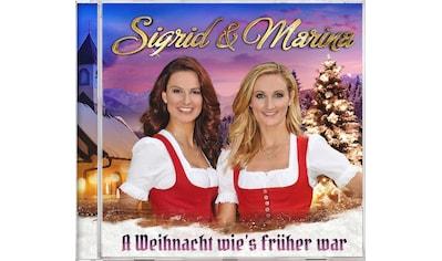 Musik-CD »A Weihnacht wie's früher war / Sigrid & Marina« kaufen