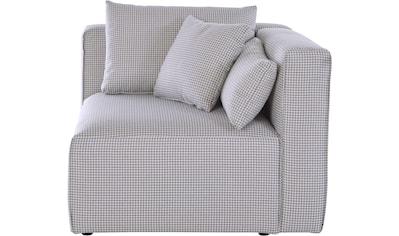 Guido Maria Kretschmer Home&Living Sofa-Eckelement »Comfine«, Modul-Ecke zur indiviuellen Zusammenstellung eines perfekten Sofas, in 3 Bezugsvarianten und vielen Farben, Bezug auch in Luxus-Microfaser in Teddyfelloptik kaufen