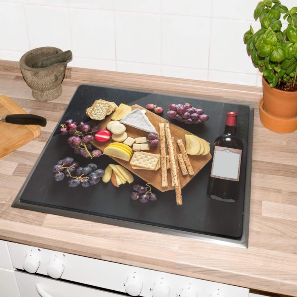 Wall-Art Herd-Abdeckplatte »Küche Herdabdeckplatte Käseplatte«, (Set, 2 tlg.)
