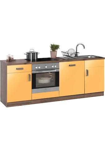wiho Küchen Küchenzeile »Tacoma«, ohne E - Geräte, Breite 220 cm kaufen