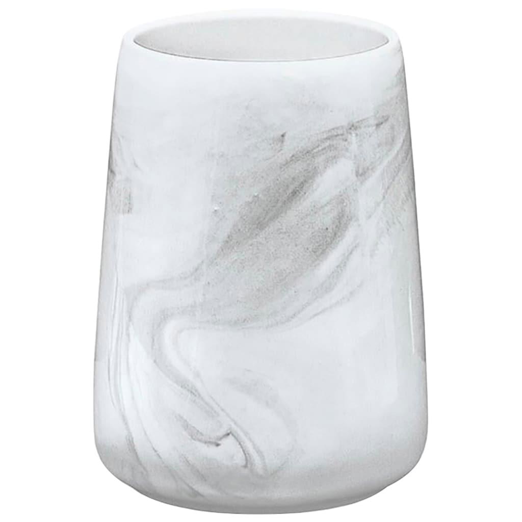 Kleine Wolke Zahnputzbecher »Marble«