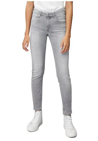 Marc O'Polo DENIM 5-Pocket-Jeans, Alva mit Destroyed-Details kaufen