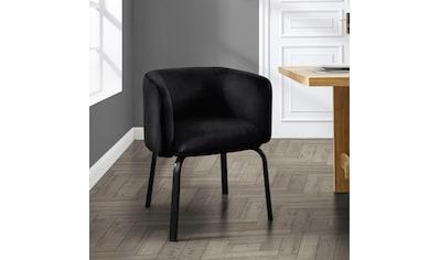 andas Esszimmerstuhl »Maribo«, 2er Set, aus einem schönen, weichen Samtvelours Bezug, Design by Morten Georgsen kaufen