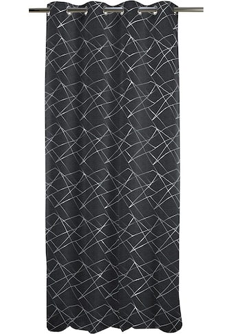 APELT Vorhang »Vio 135X245«, HxB: 245x135, Vio, Ösenschal mit Metallösen kaufen