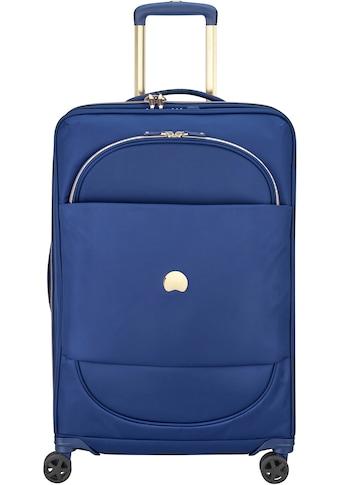 Delsey Weichgepäck-Trolley »Montrouge, 69 cm, blue«, 4 Rollen kaufen