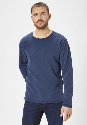 Paddock's Rundhalspullover, jeansiger Look kaufen
